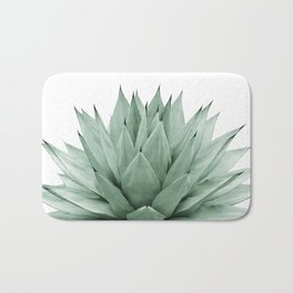 Agave Green Summer Vibes #1 #tropical #decor #art #society6 Bath Mat