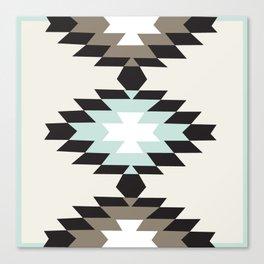 American Native Pattern No. 150 Canvas Print