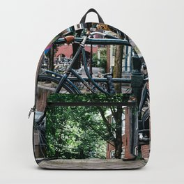 Bicycles in Amsterdam Backpack