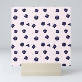Sweet Dreams Polyhedral Dice Mini Art Print