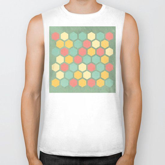 Summer bees, makes me feel fine Biker Tank