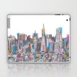 San Francisco Coit view Laptop & iPad Skin