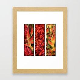 Hawai'ian Florals No.1 Framed Art Print