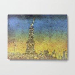 Lady Liberty #4 Metal Print