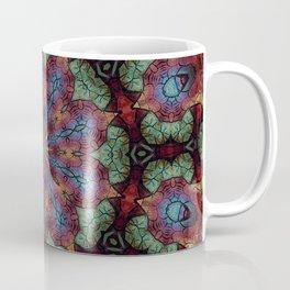 Scarab Lotus Mandala Coffee Mug