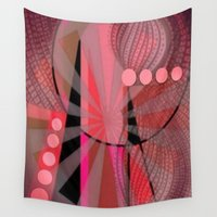 carnival Wall Tapestries featuring Carnival by Kristine Rae Hanning