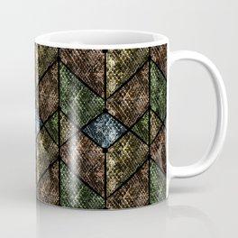 Snake skin, patchwork. Coffee Mug