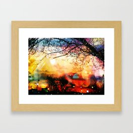 Rainbow Kisses Framed Art Print