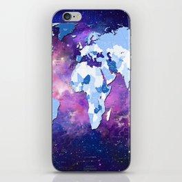 world map political galaxy 2 iPhone Skin