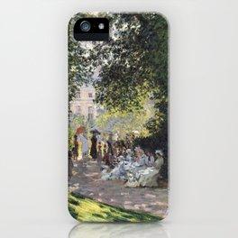 The Parc Monceau iPhone Case