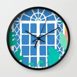 Postmodern Garden Window Wall Clock