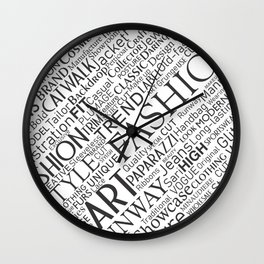 Fashion keywords Wall Clock
