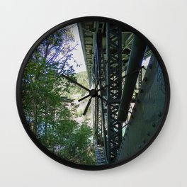 Two Worlds of Deception Pass Wall Clock