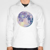 the moon Hoodies featuring Moon by Marta Olga Klara