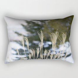 Grass & Pine Rectangular Pillow