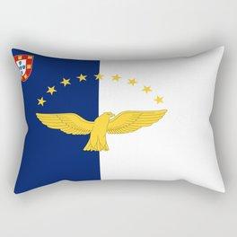 Flag of Azores Rectangular Pillow