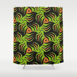 Wild Horses 4 by Amanda Martinson Shower Curtain