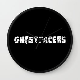Ghostfacers Wall Clock