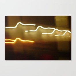 all of the lights... Canvas Print