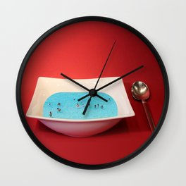 God Complex Wall Clock