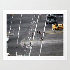 The Bowery, NYC 2011 Art Print