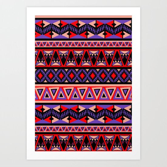 Neo Tribal Art Print