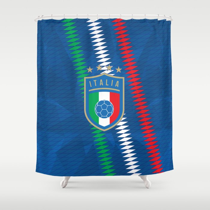 Italy Football Shower Curtain by fimbissports | Society6