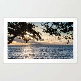 Sunrise Over the Bohol Sea Art Print