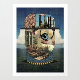 Waveman Art Print