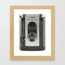 Argus Seventy-Five Framed Art Print
