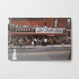 The Corner Deli Metal Print
