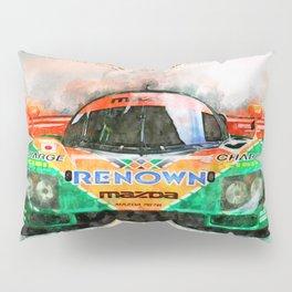 Winner Le Mans 1991 Pillow Sham