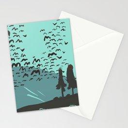 Mount Kayak  Stationery Cards