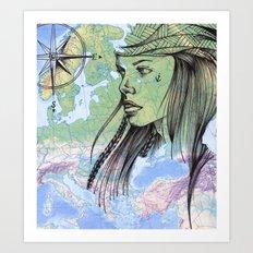 pirate. Art Print