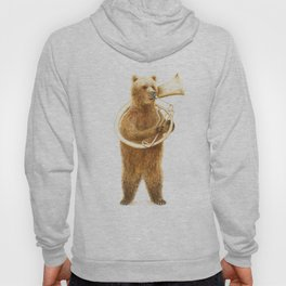 The Bear and his Helicon Hoody