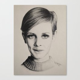 Model Citizen Portrait Canvas Print
