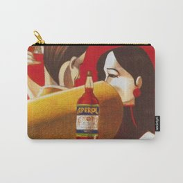 Aperol Alcohol Aperitif Spritz Vintage Advertising Poster Carry-All Pouch