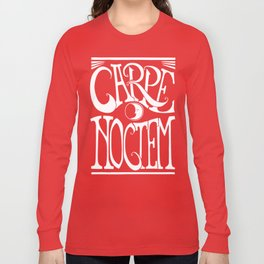 Carpe Noctem - black Long Sleeve T-shirt