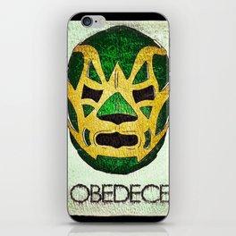 Fishman: OBEDECE iPhone Skin