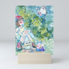 rainy hour Mini Art Print