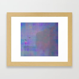 From the balcony ~ Abstract Framed Art Print