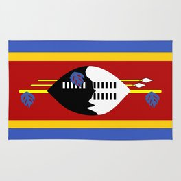 Swaziland country flag Rug