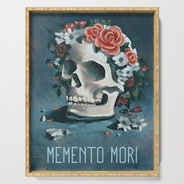 Memento Mori Serving Tray