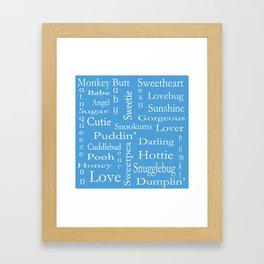 Terms Of Endearment Framed Art Print