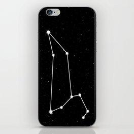 Leo Astrology Star Sign Night Sky iPhone Skin