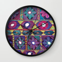 Embroidery Wall Clock