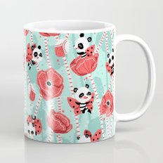 Poppy Pandas Coffee Mug