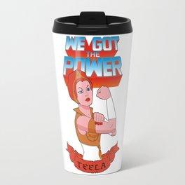 We got the power Travel Mug