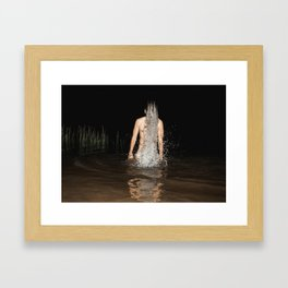 Ima Fountain Framed Art Print