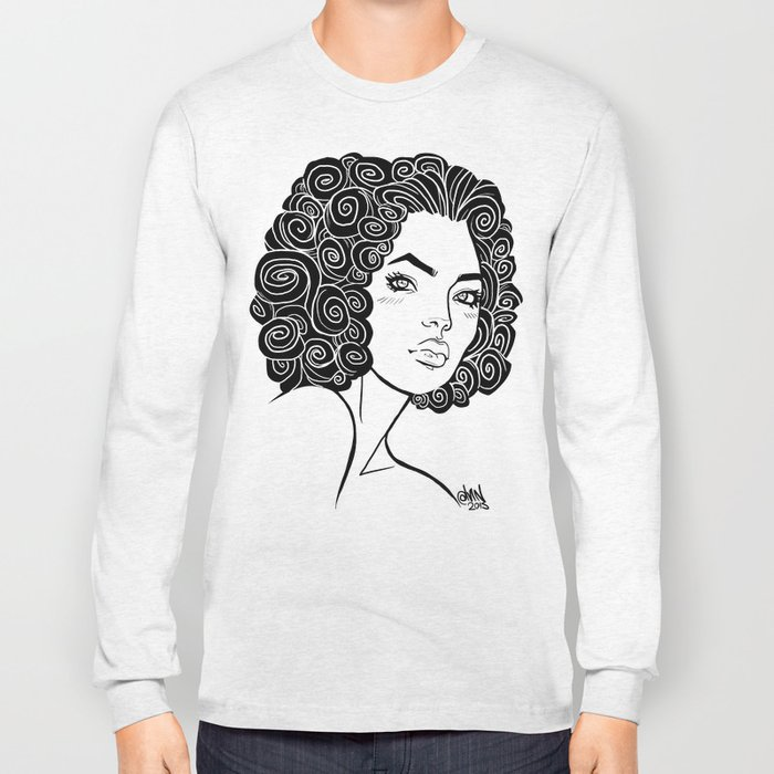 Curly Solonge Long Sleeve T-shirt